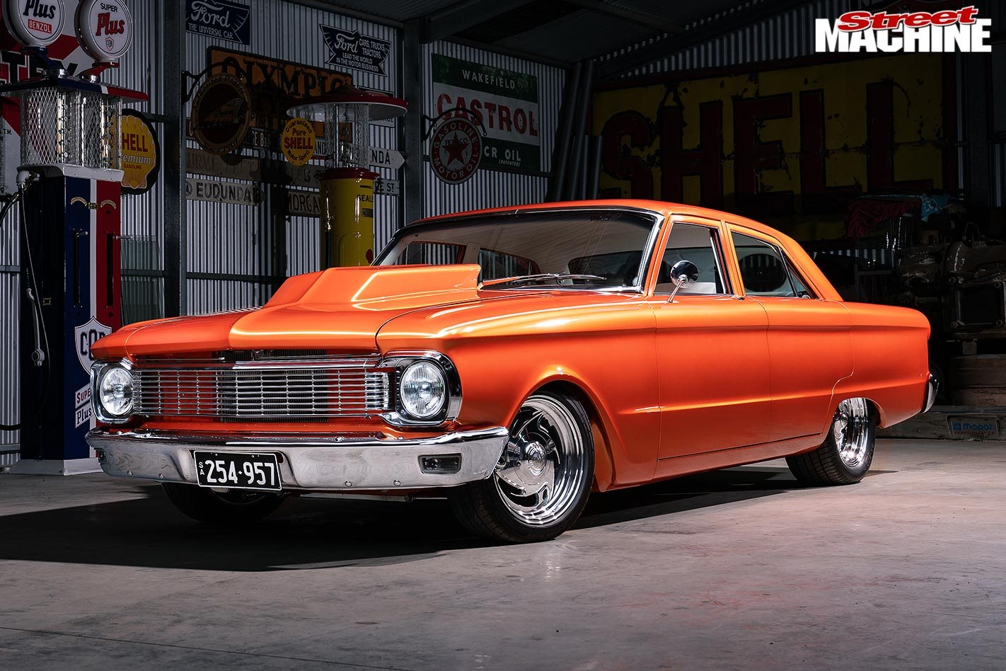 Chopped custom 1966 Ford XP Falcon sedan