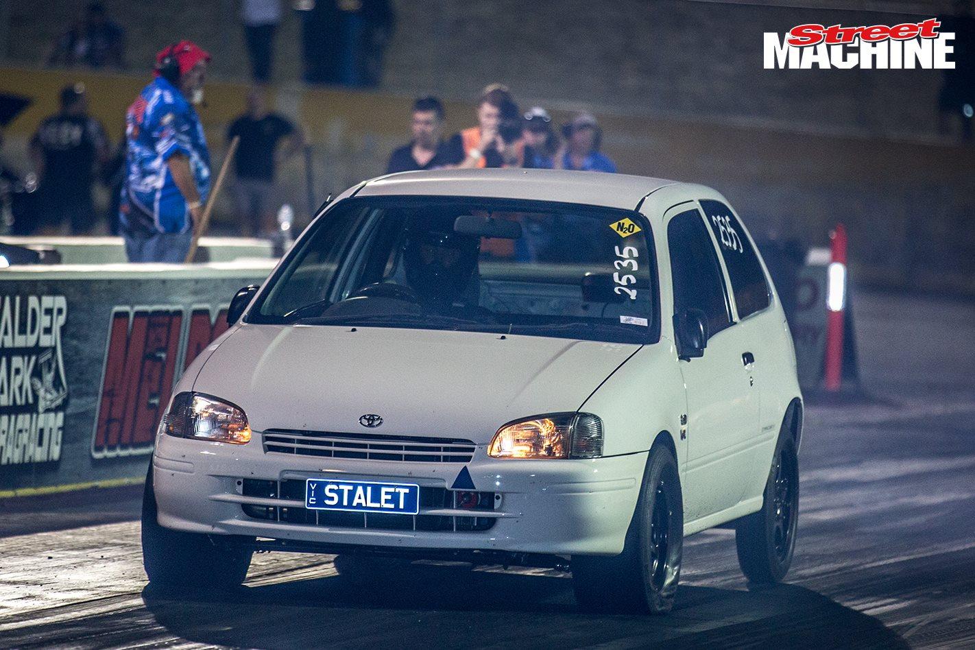 10-second turbo Toyota Starlet – Video