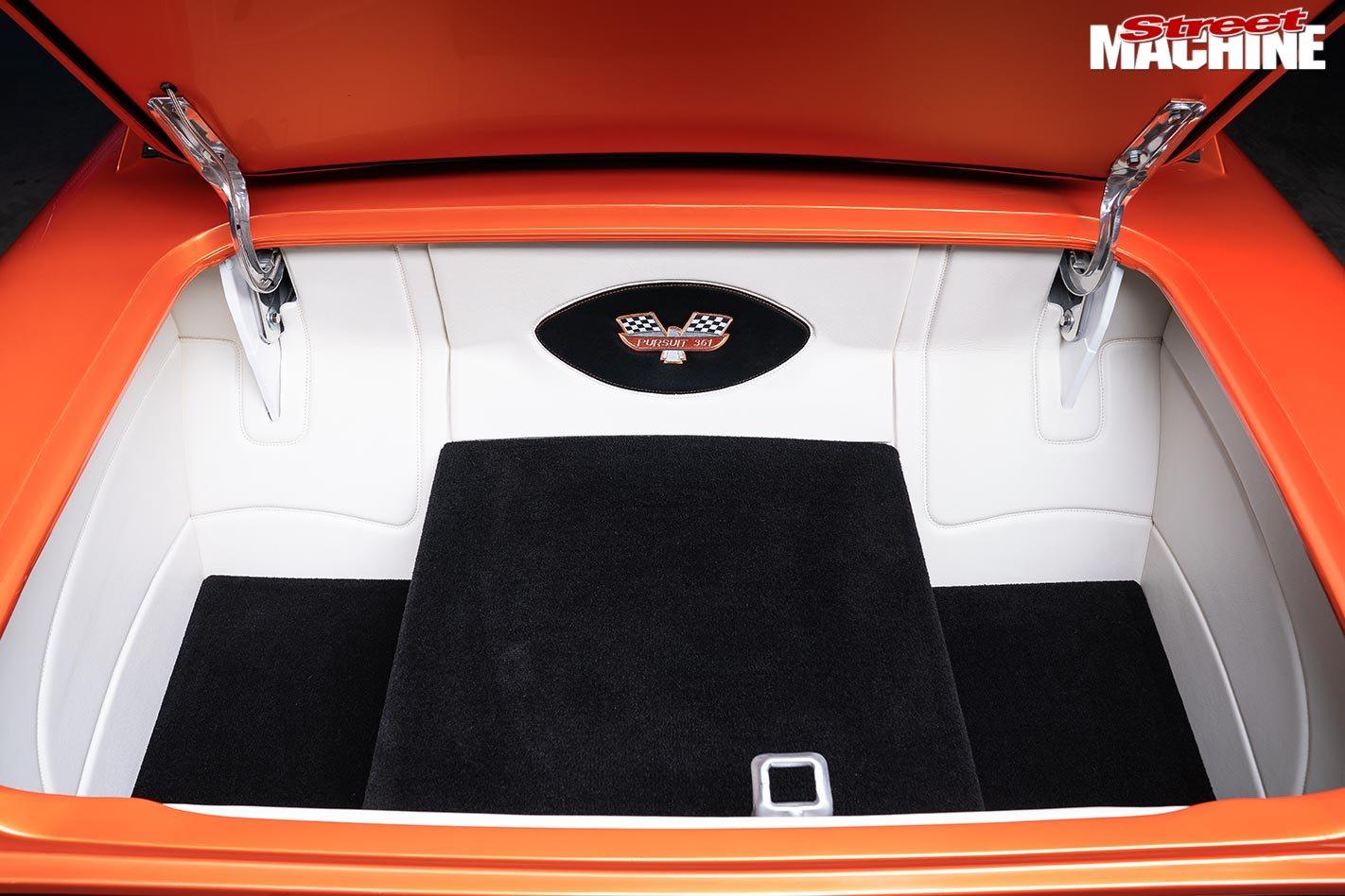 Chopped custom 1966 Ford XP Falcon sedan