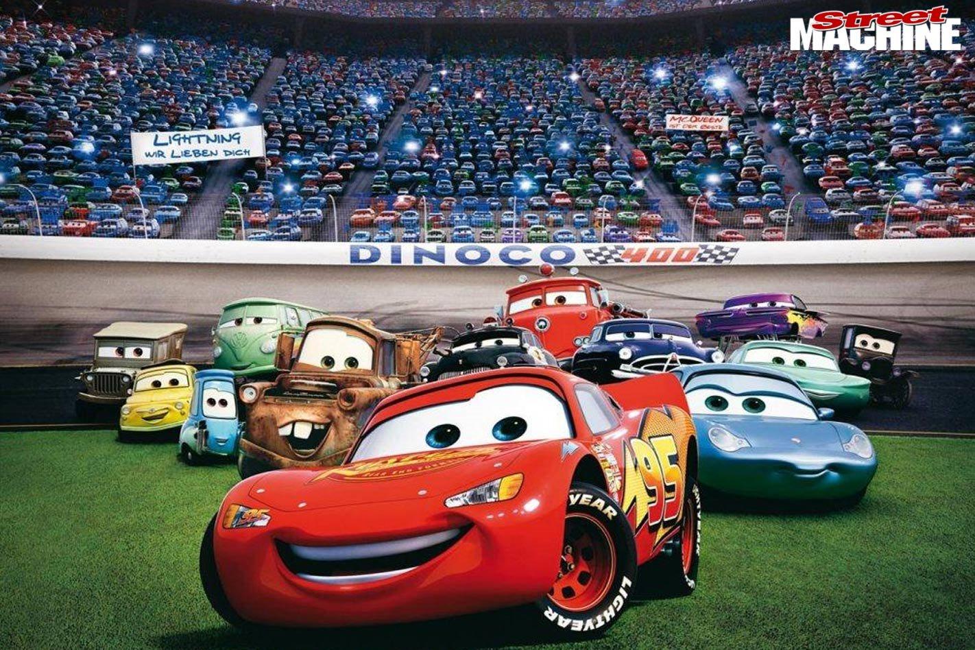 Cars 2 (2011) - Ripper Car Movies