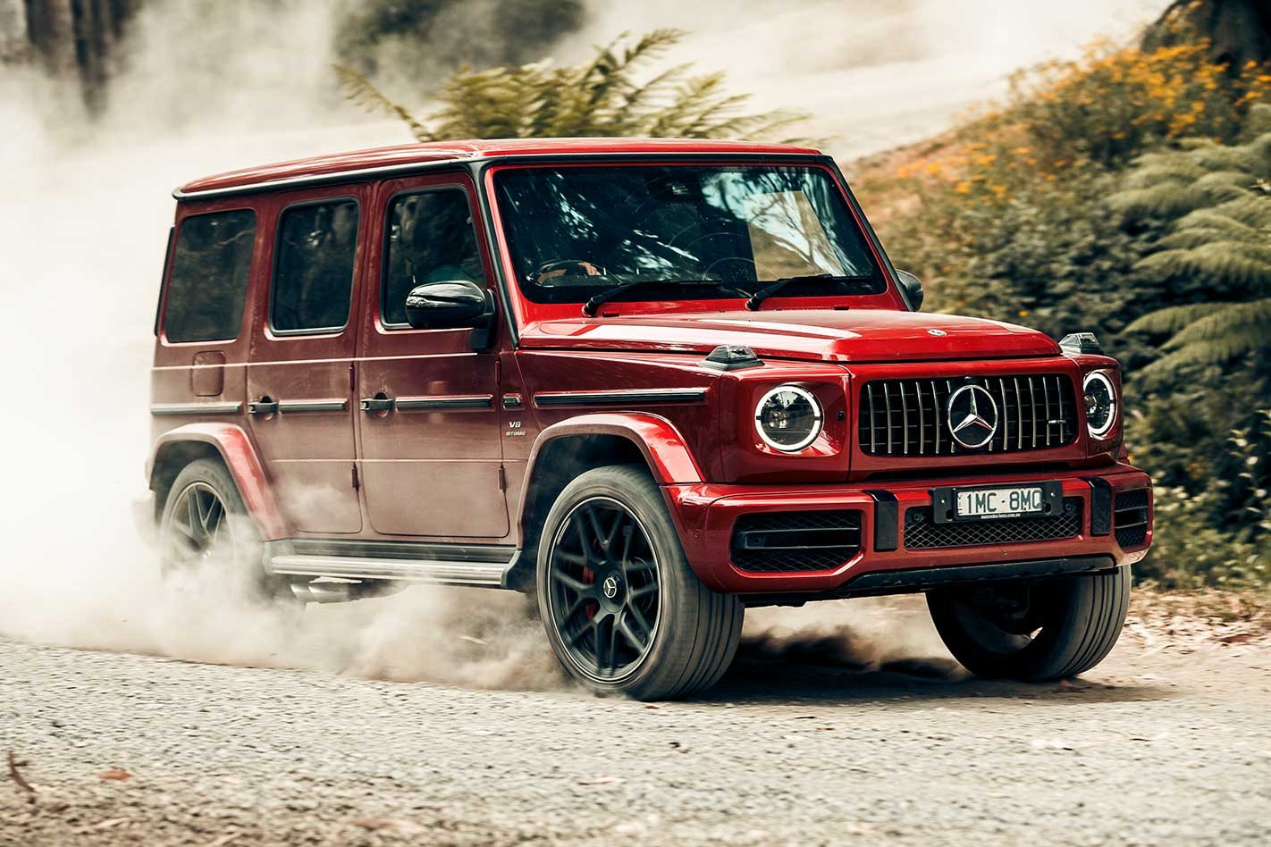 2019 mercedes amg g63 first drive 4x4 review. Black Bedroom Furniture Sets. Home Design Ideas