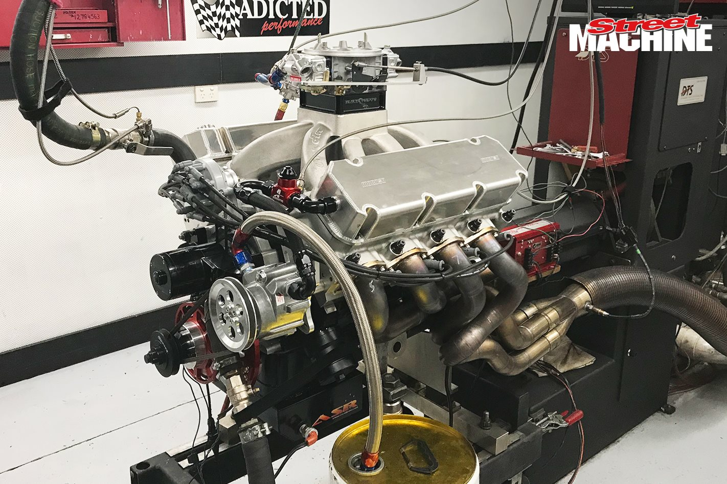 1000hp 547ci big-block Ford engine dyno – Video