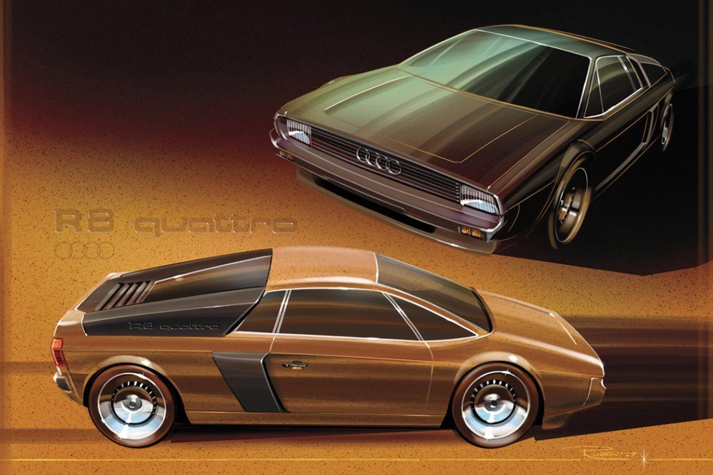 Dutch Artist Reimagines Modern Cars As Retro Creations