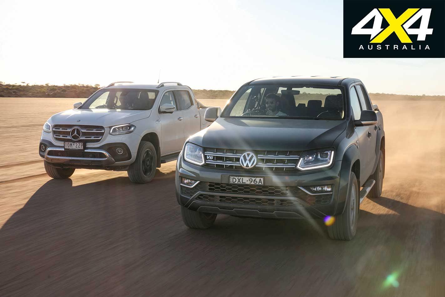 2c6aadf576 2019 Volkswagen Amarok Ultimate 580 vs Mercedes-Benz X350d comparison 4x4  review