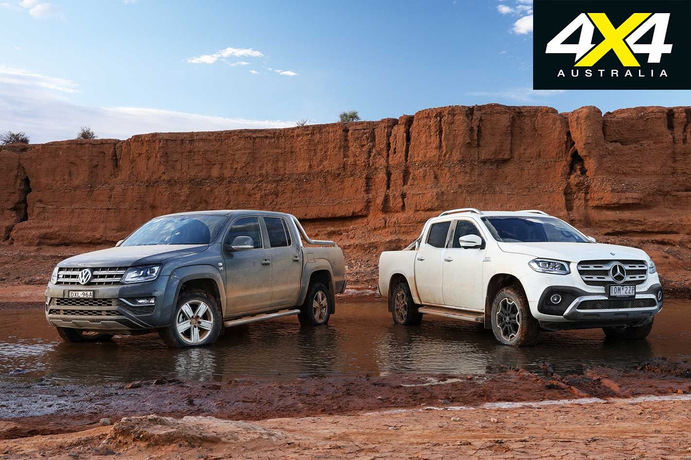 ada8e675ffac2b 2019 Volkswagen Amarok Ultimate 580 vs Mercedes-Benz X350d comparison 4x4  review