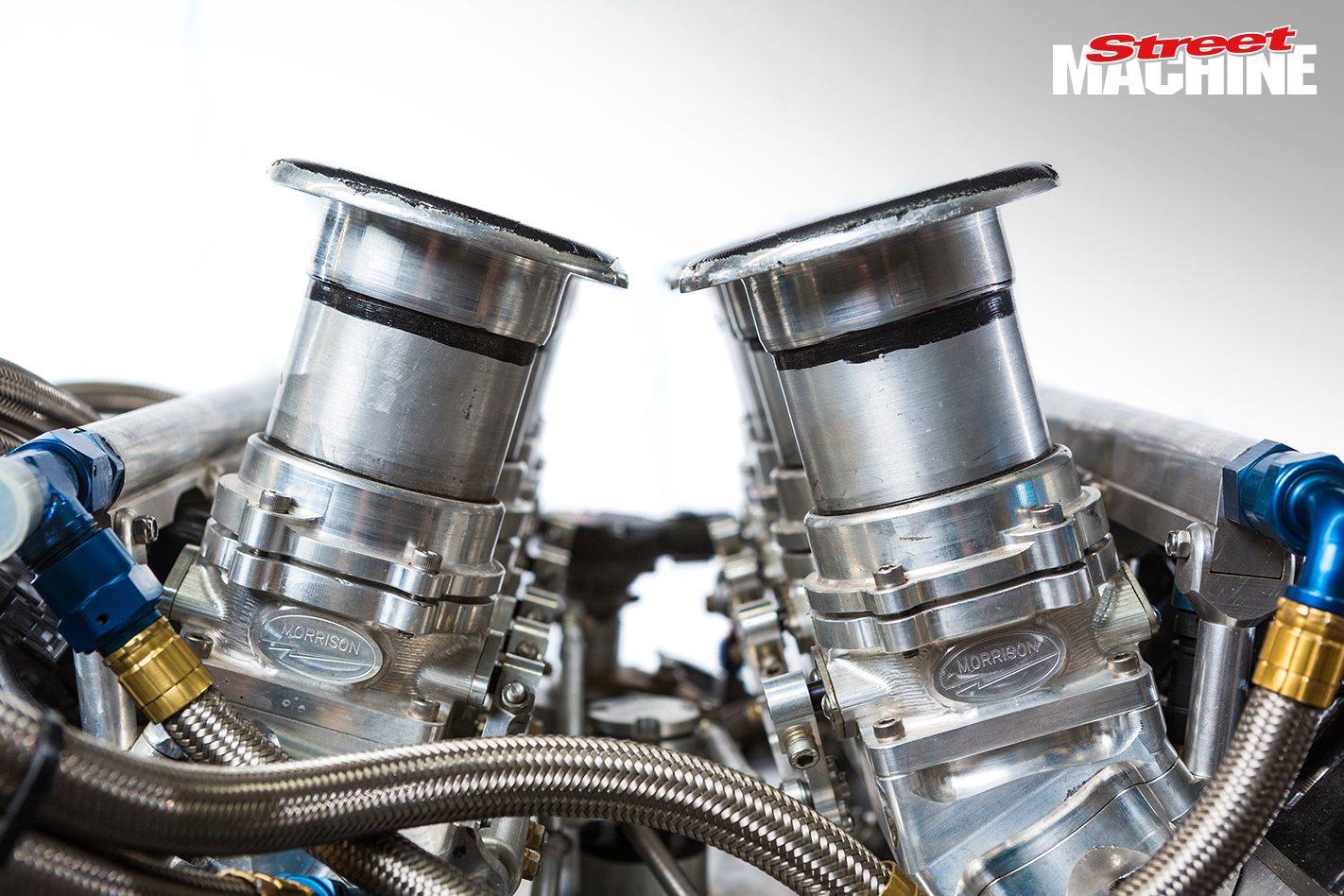 800hp 356ci GM NASCAR engine