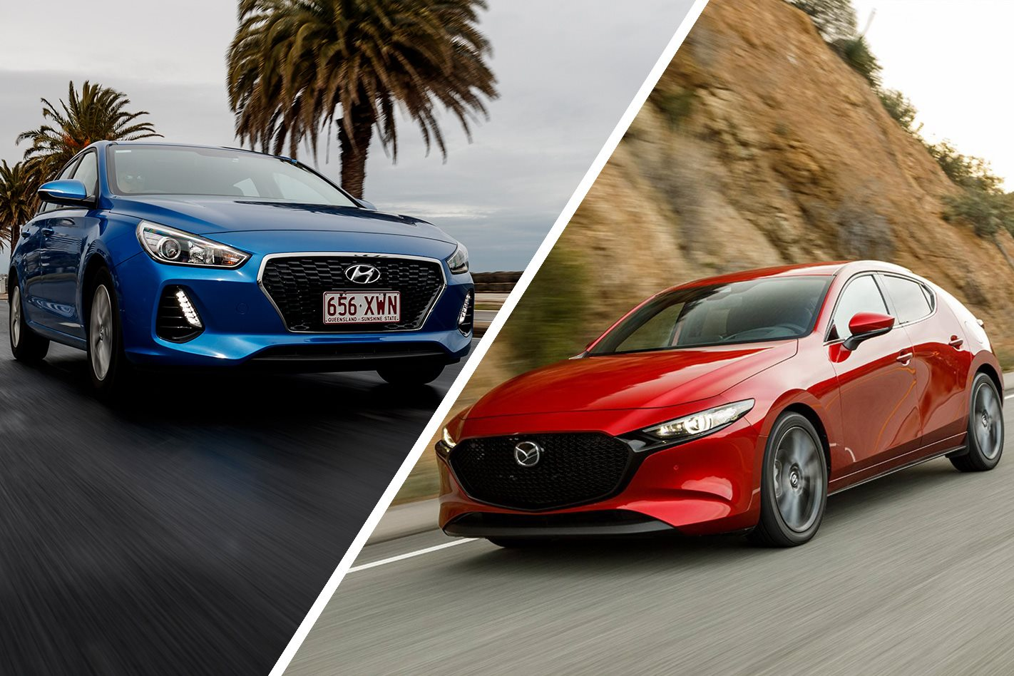 2019 Mazda 3 Vs Hyundai I30 How Do They Stack Up