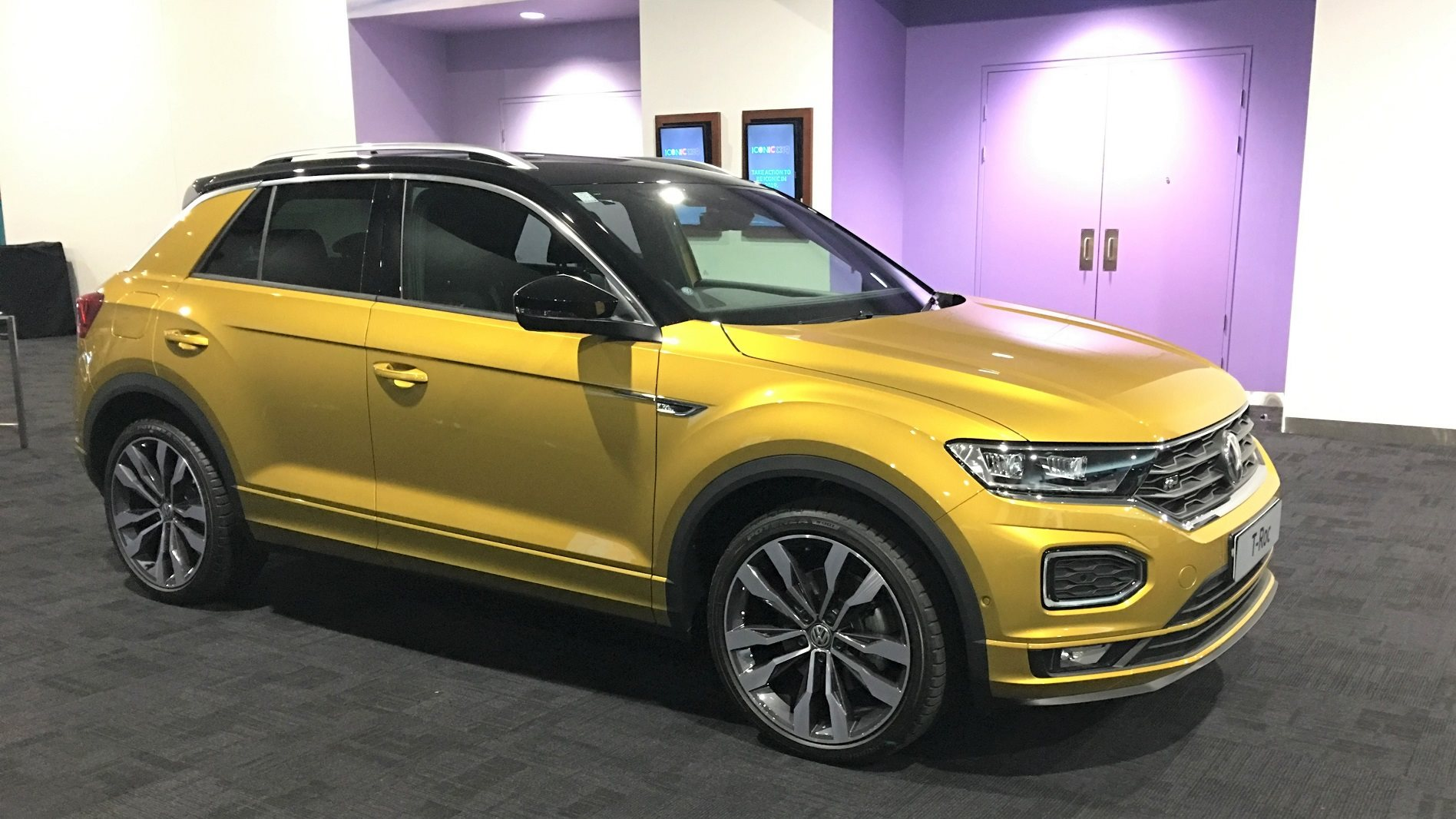 Volkswagen T-Roc and T-Cross shown off in Australia