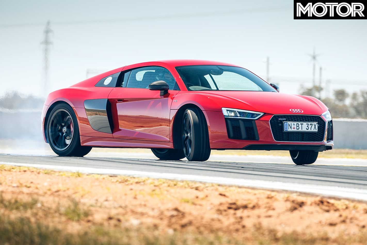 Audi R8 Rws Misses Out On The Performance Car Of The Year 2019 Podium