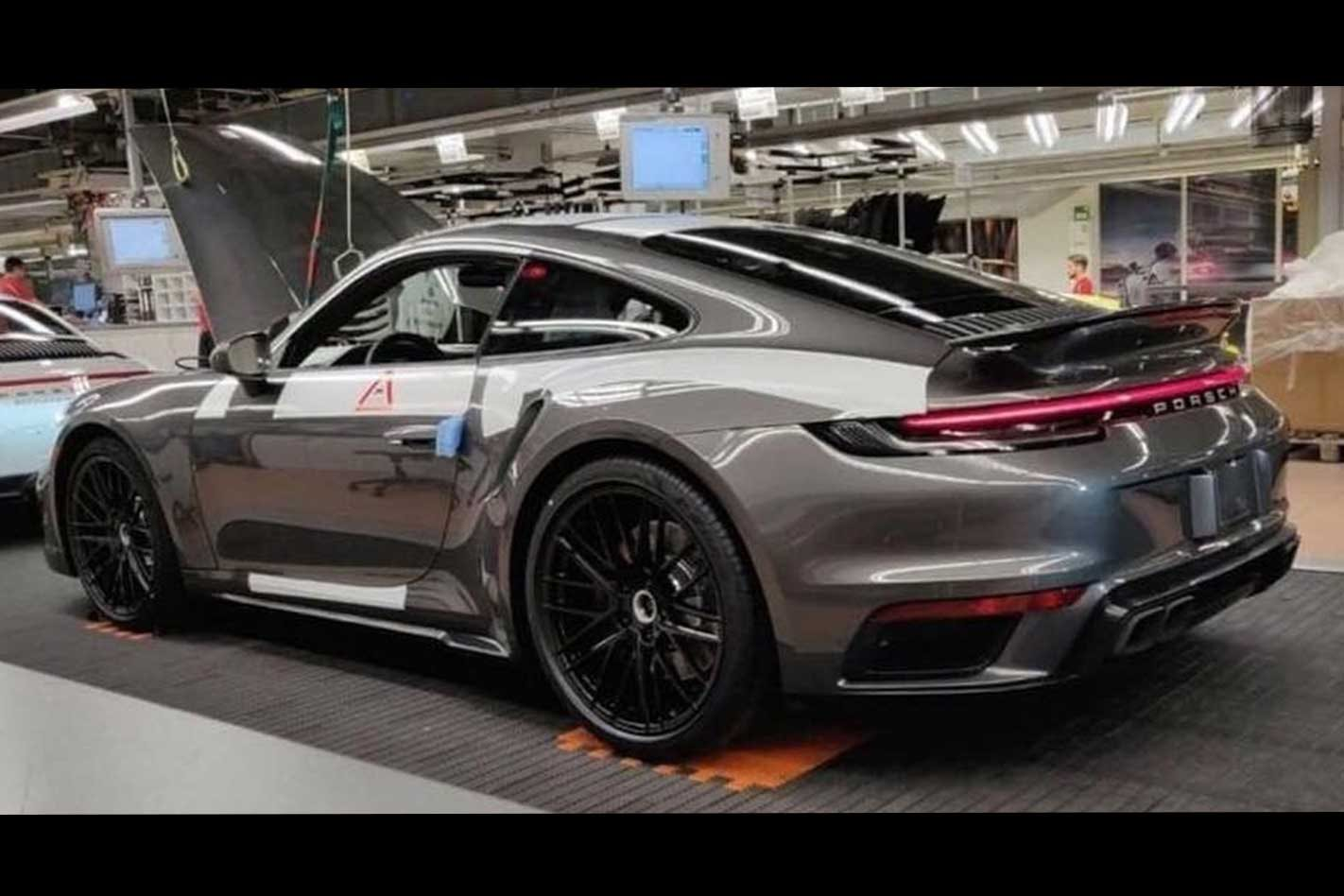 2020 Porsche 992 911 Turbo Image Leaks