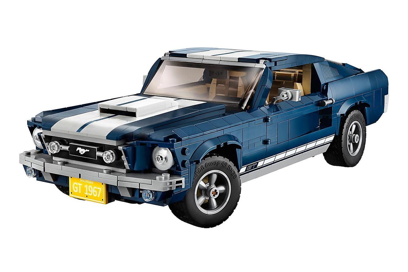 Lego 1967 ford mustang gt available soon