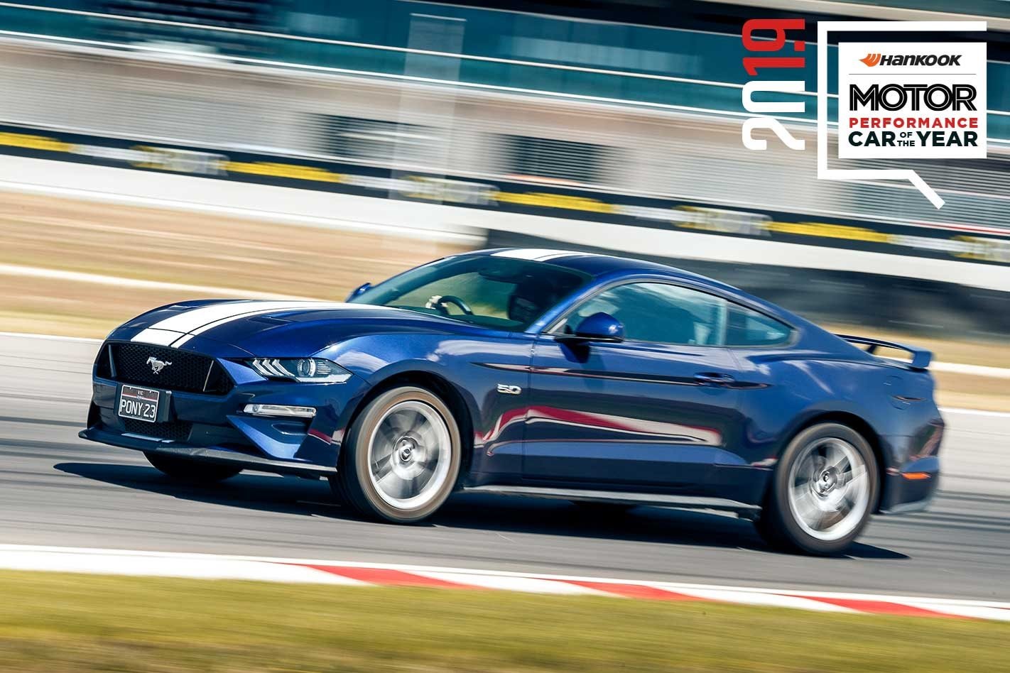 Ford mustang gt performance car of the year 2019 9th place