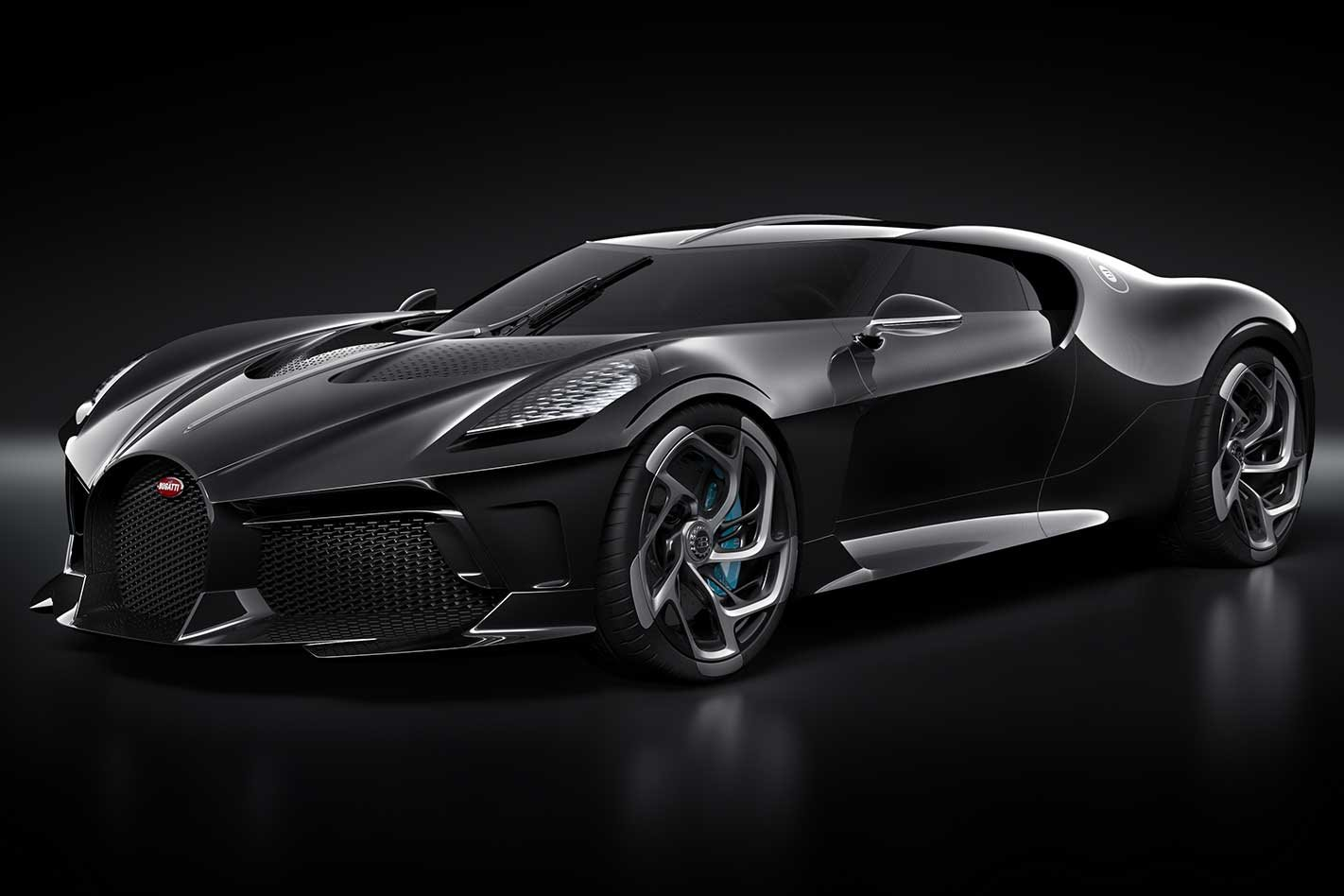 Bugatti La Voiture Noire one-off revealed at the 2019 ...