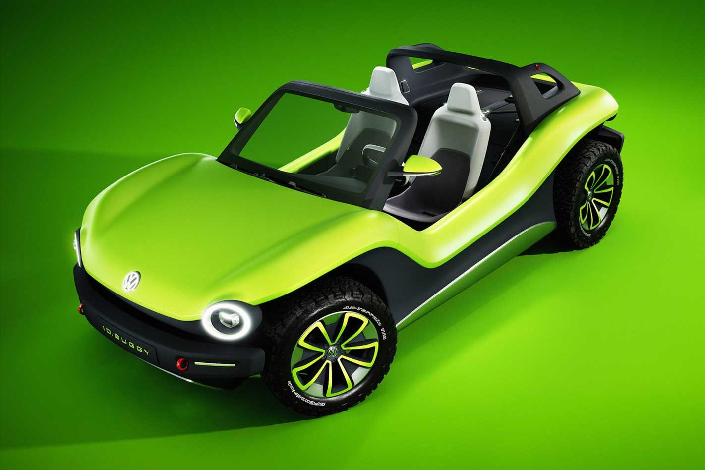 Electric Volkswagen ID BUGGY concept revealed at 2019 Geneva Motor Show