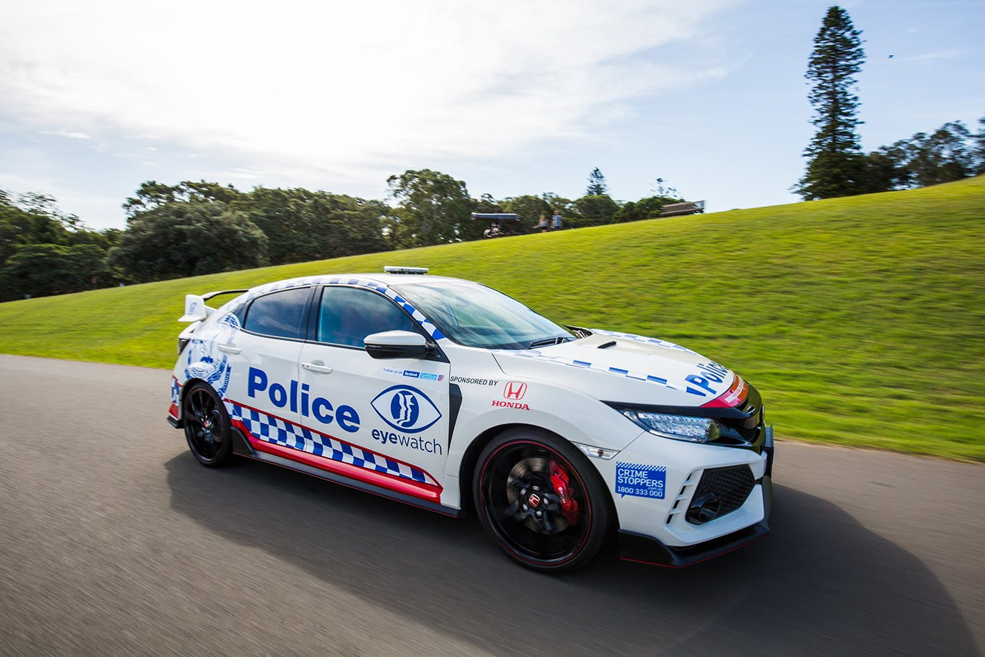 Why NSW Police just scored a Honda Civic Type R