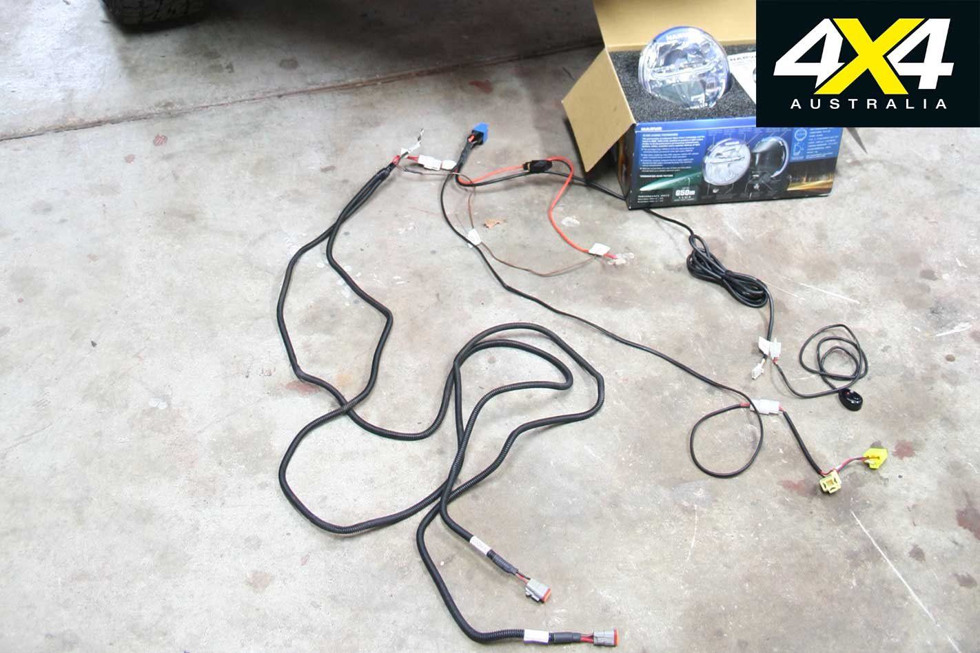 How to install 4x4 driving lights: DIY Guide | 4x4 Australia Narva Wiring Loom Instructions on