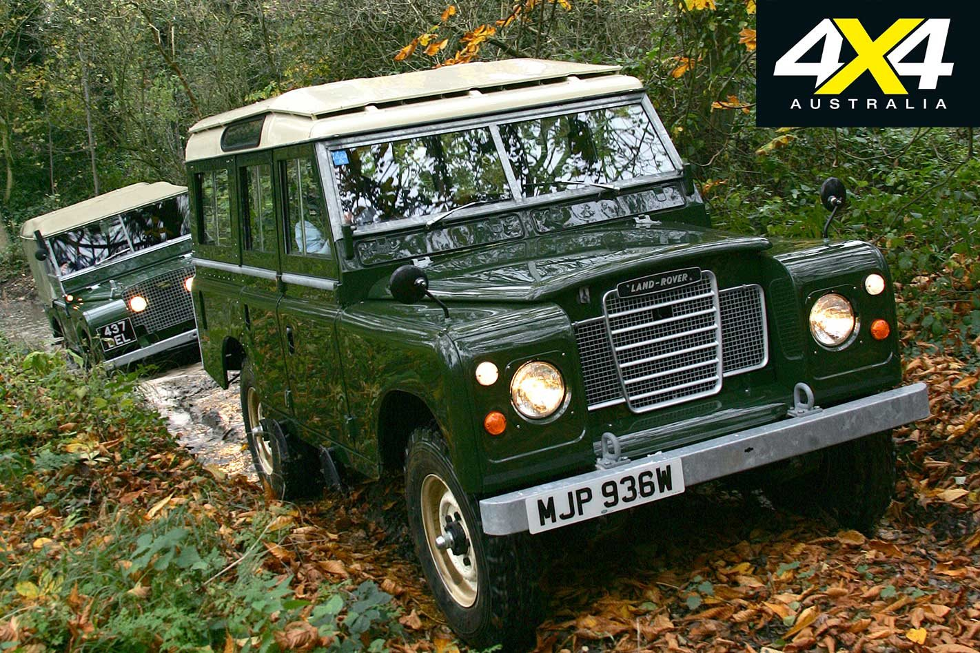 land rover experience at eastnor castle 4x4 australialand rover series iii