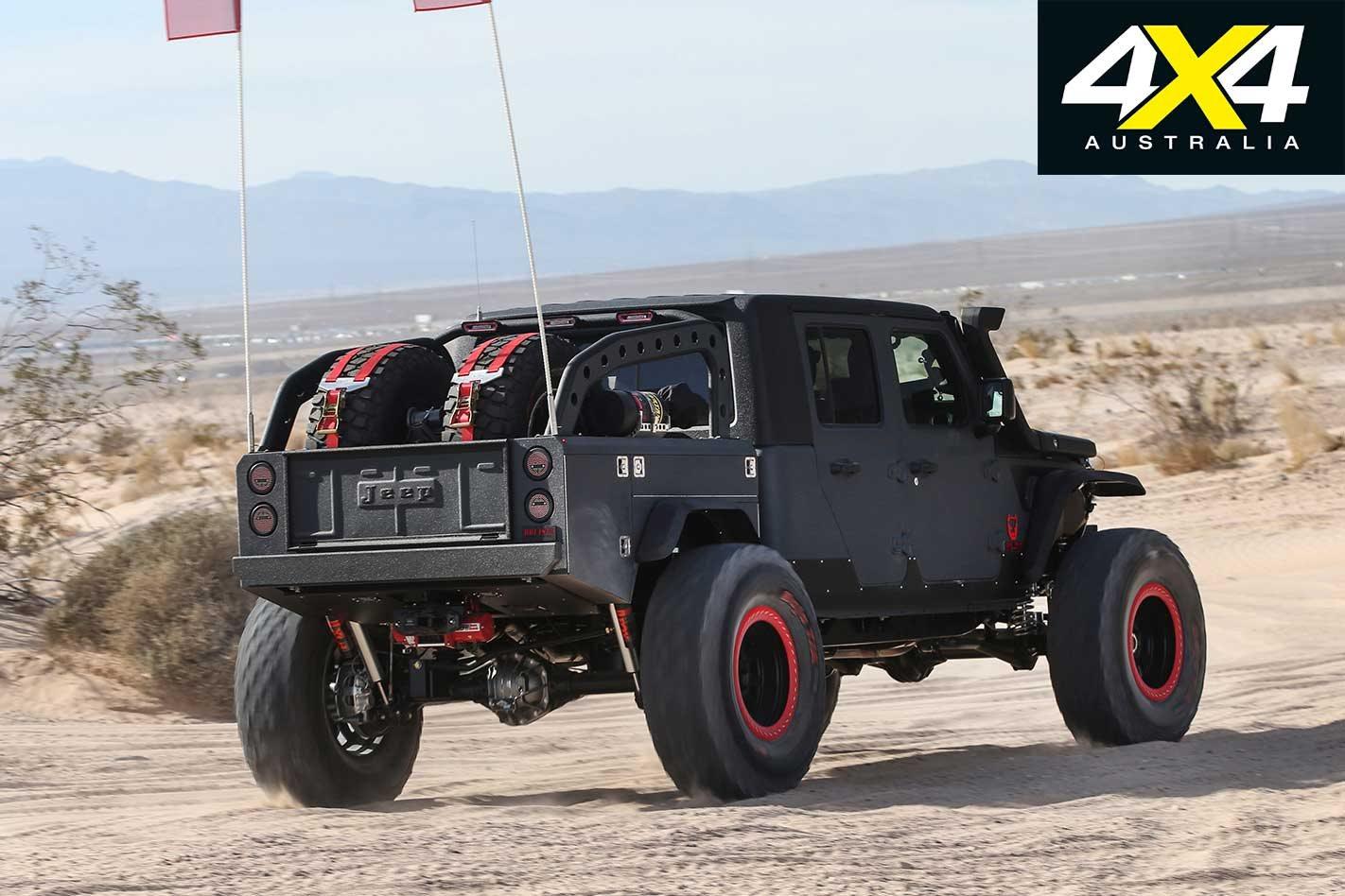 Custom Bruiser Conversions Jeep Jl Wrangler V8 Dual Cab Ute Review