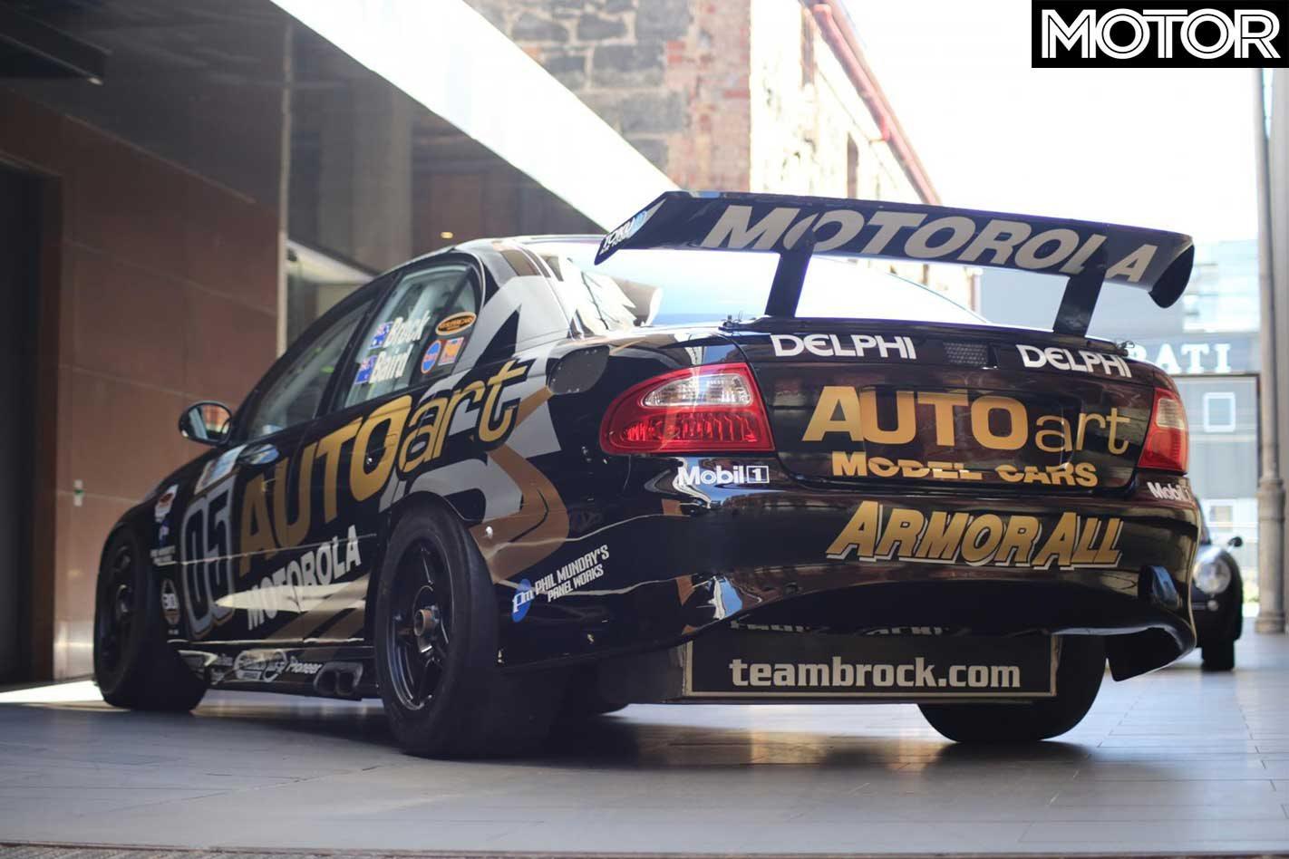 Peter Brock's Bathurst 1000 Holden VX Commodore Supercar for