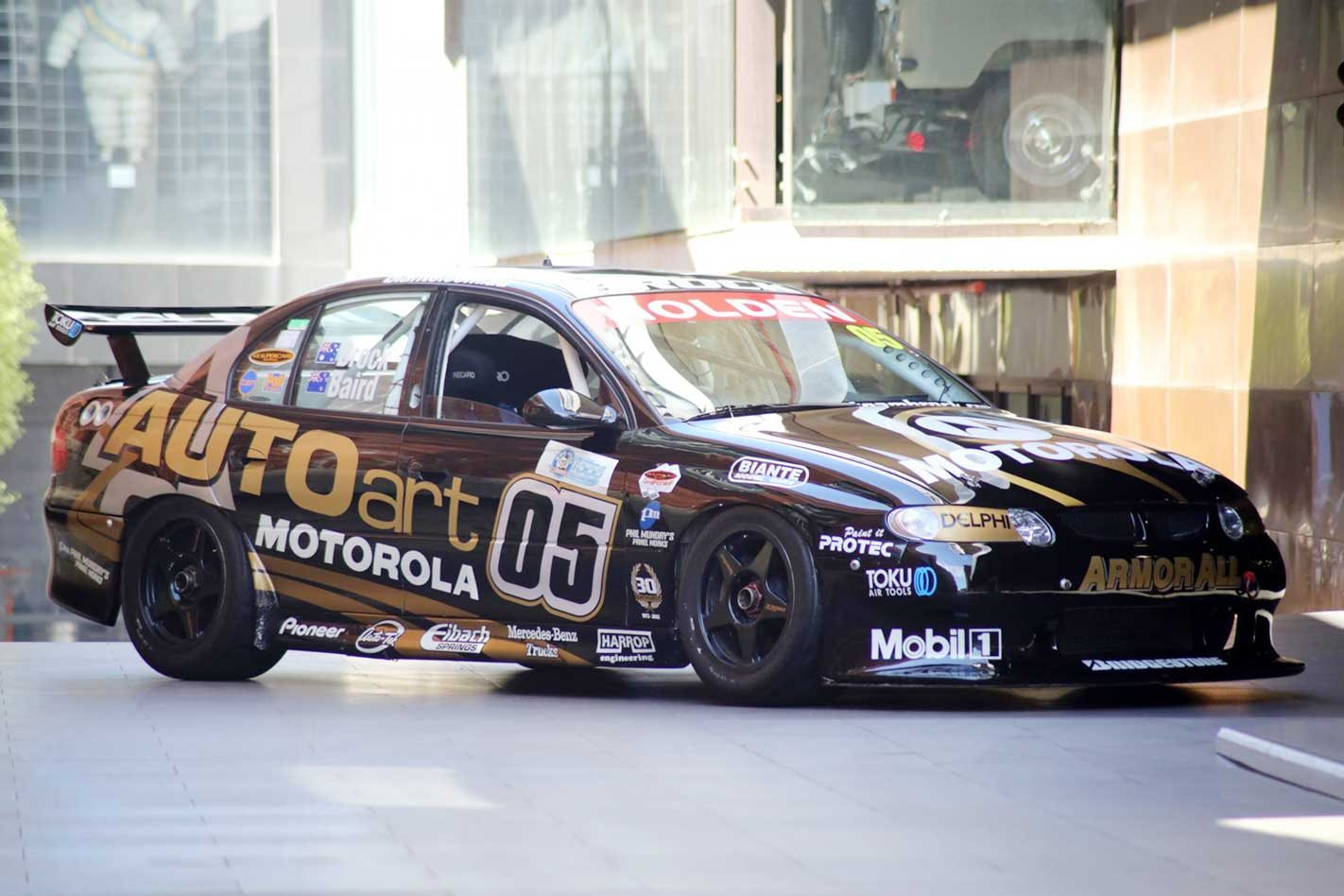 Peter Brock's Bathurst 1000 Holden VX Commodore Supercar for sale
