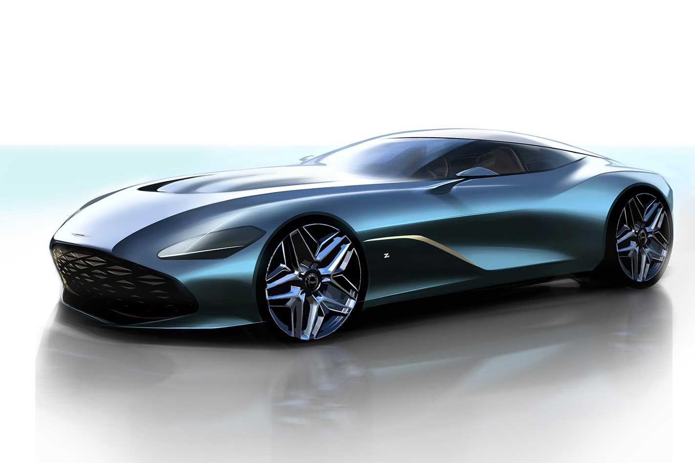 aston martin dbs gt zagato design concept revealed