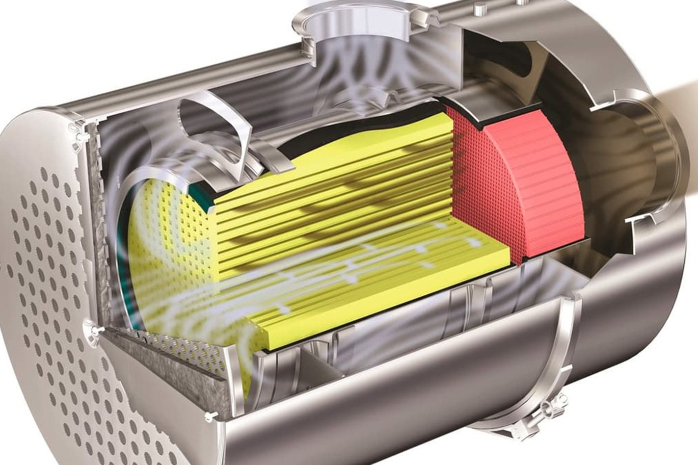 What is a petrol particulate filter, and how does it work?