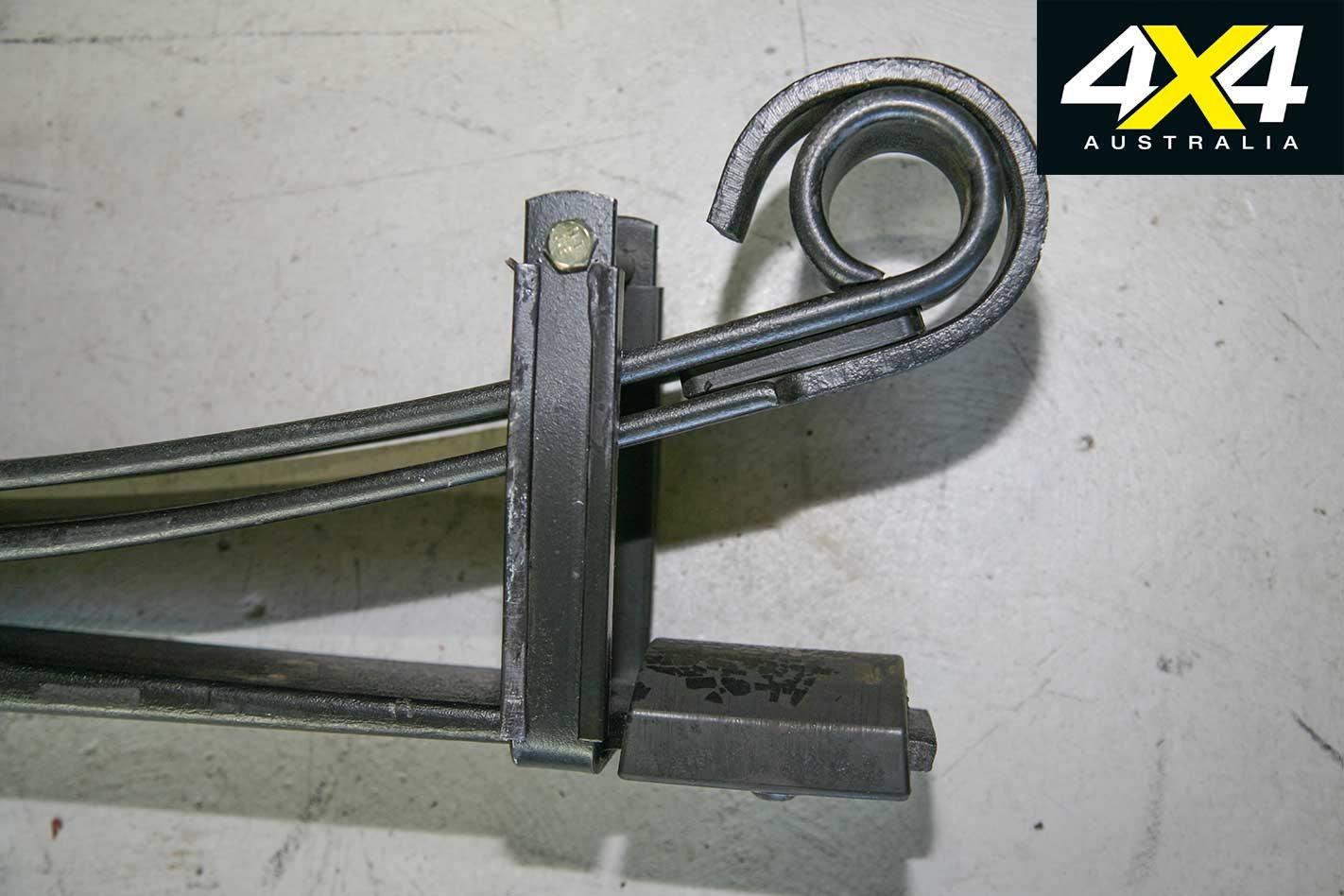 Terrain Tamer parabolic leaf springs product review | 4x4 Australia