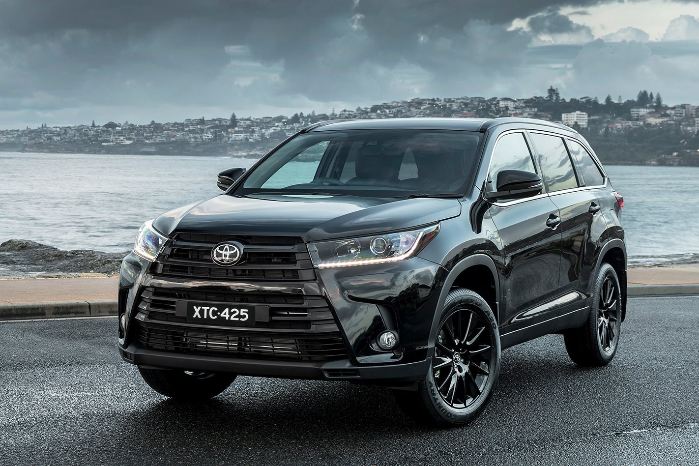 2019 Toyota Kluger Goes Dark With Black Edition