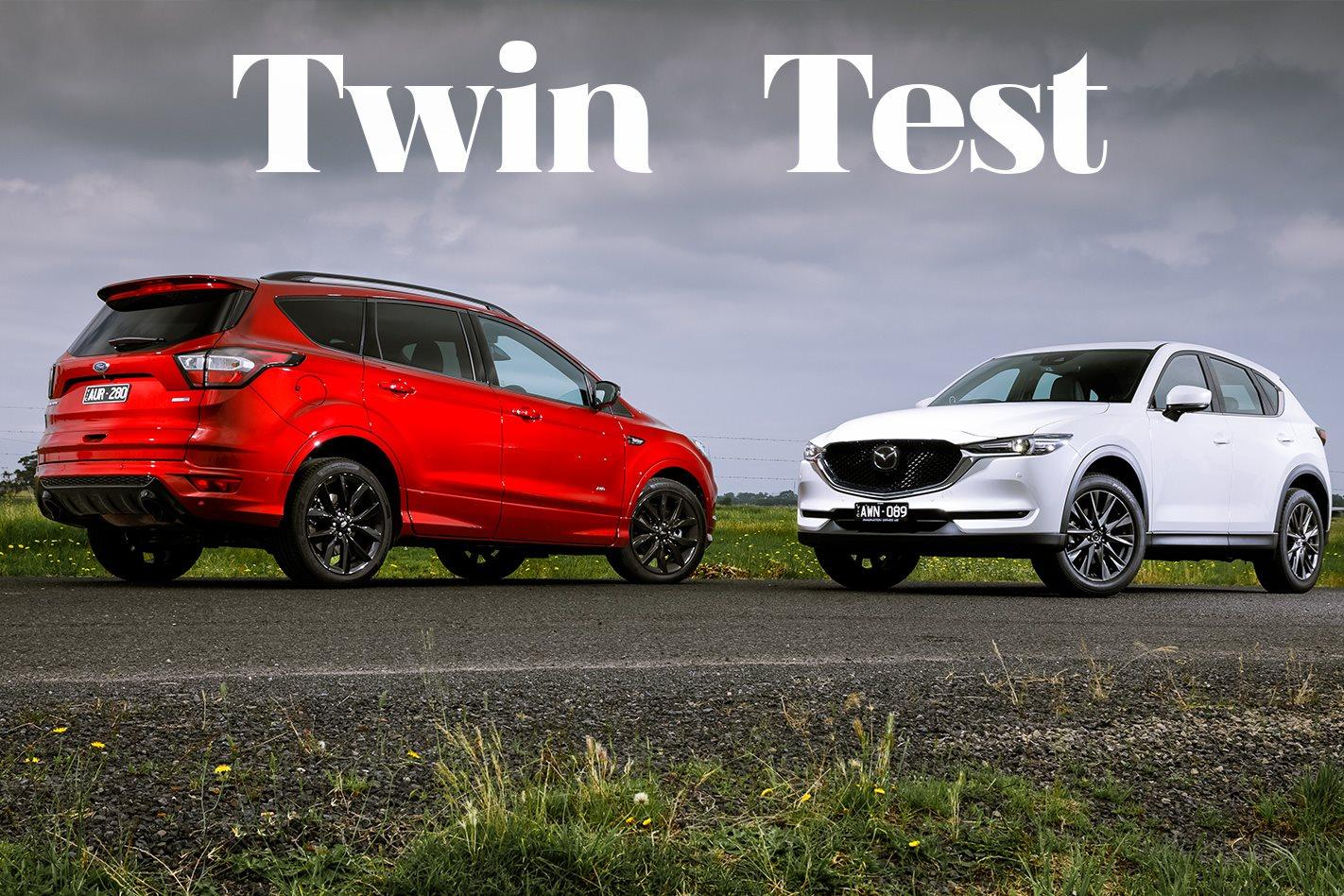 Ford Escape St Line Vs Mazda Cx 5 Akera Comparison Review