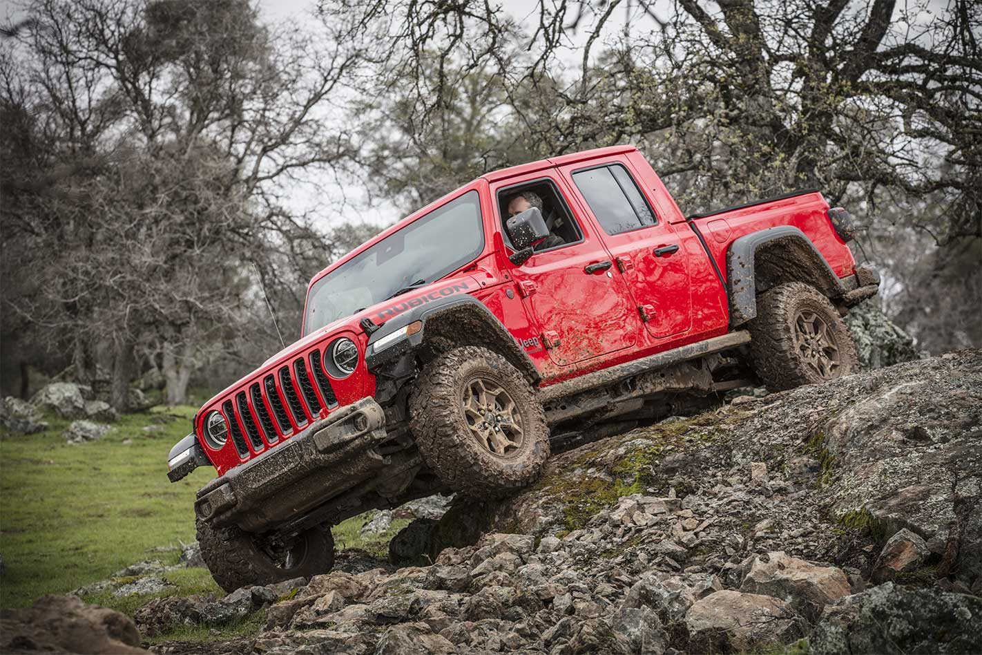 Scoop New Jeep Gladiator Tested