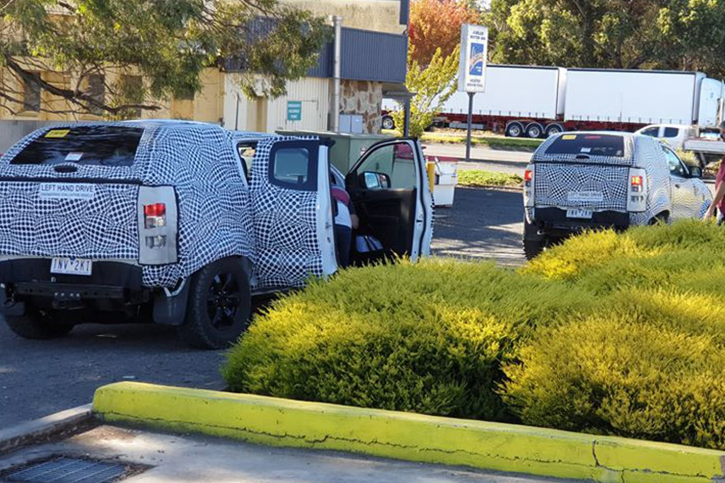 Ford Bronco mules spotted in Australia