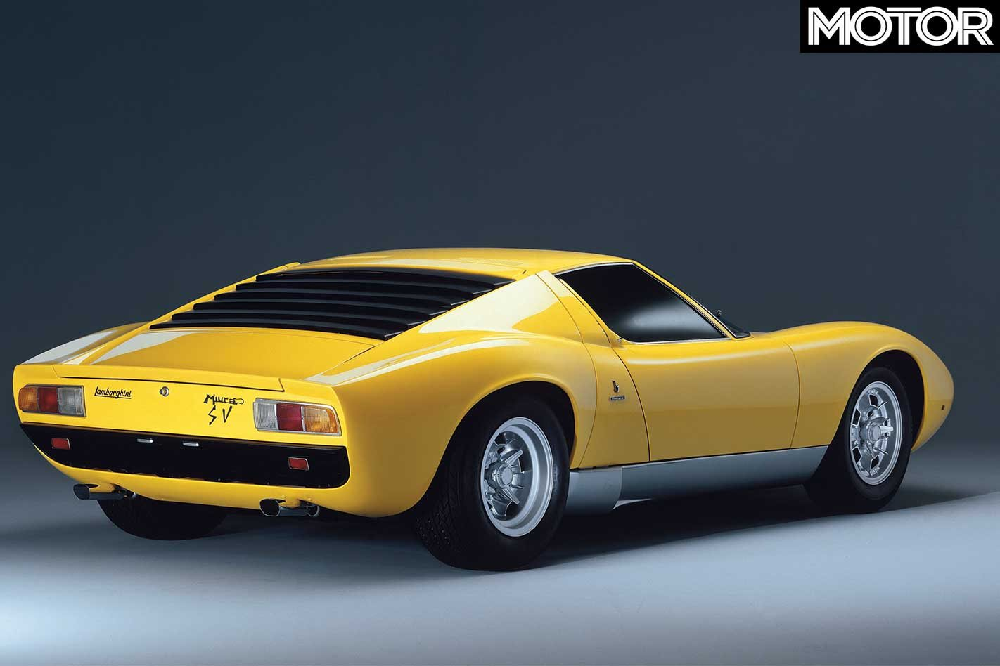 1971 Lamborghini Miura Sv Feature Motor