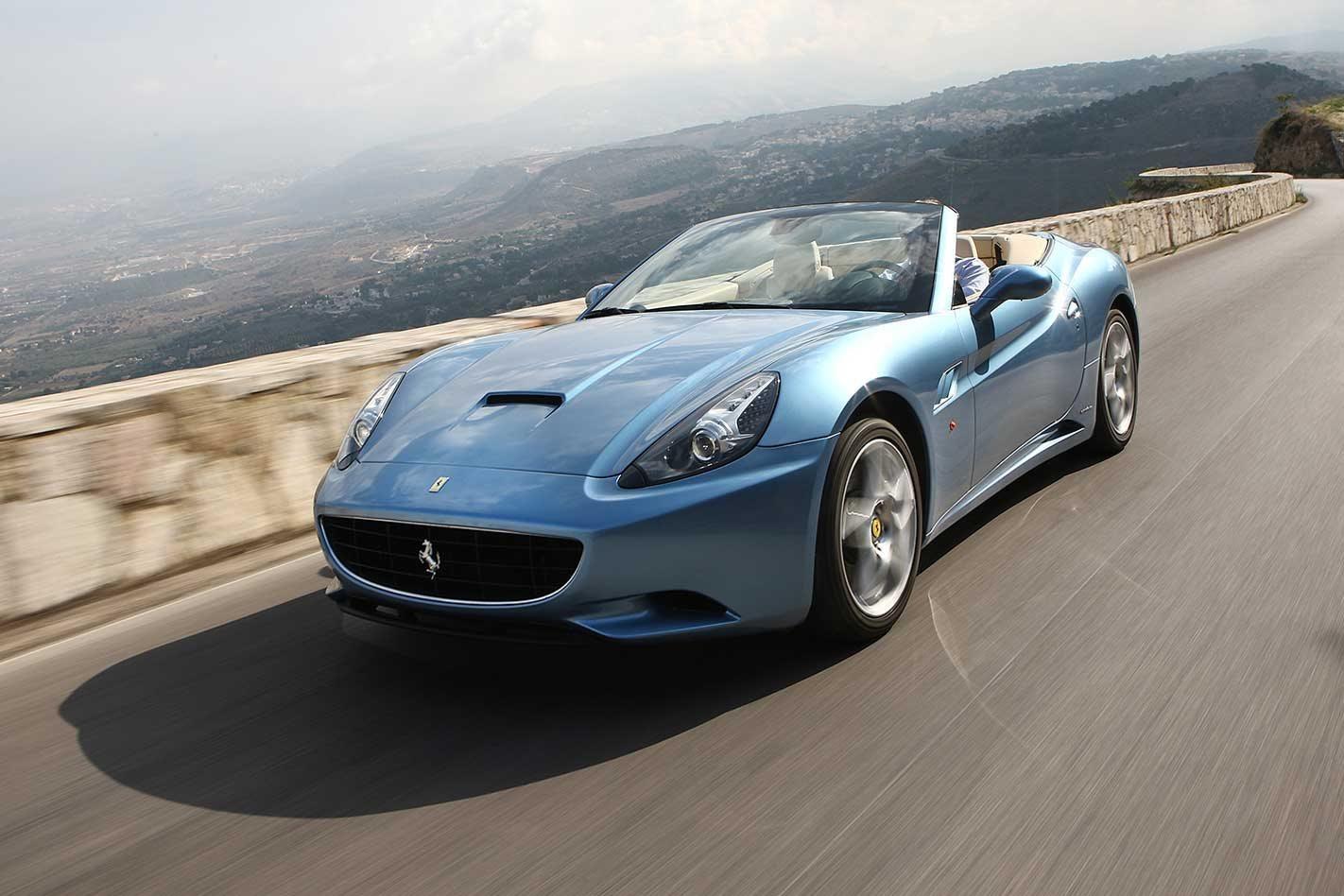 2009 Ferrari California Review Motor