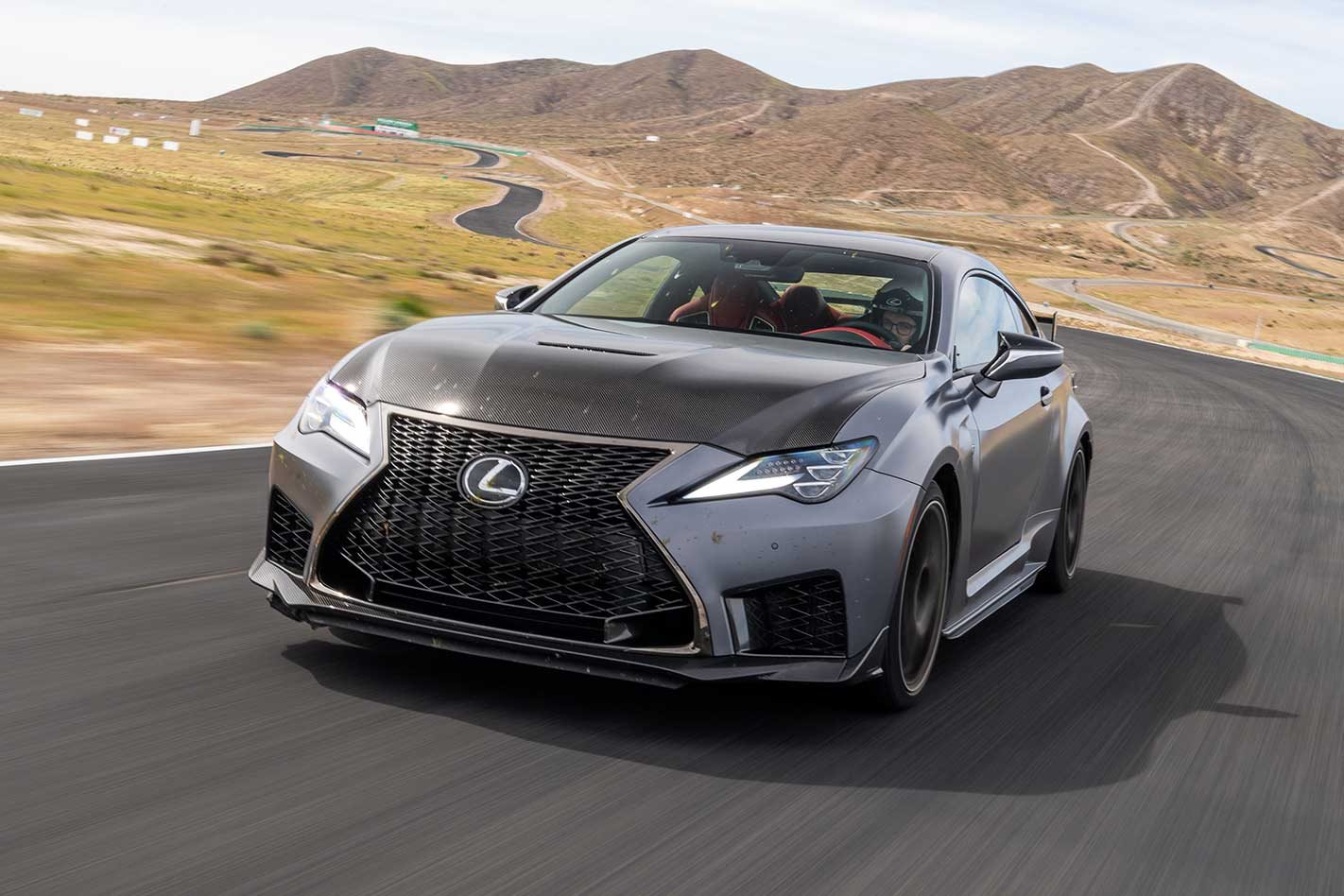 2019 Lexus Rc F Track Edition Review Motor