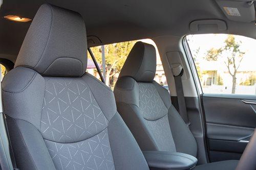 Toyota RAV4 front seats