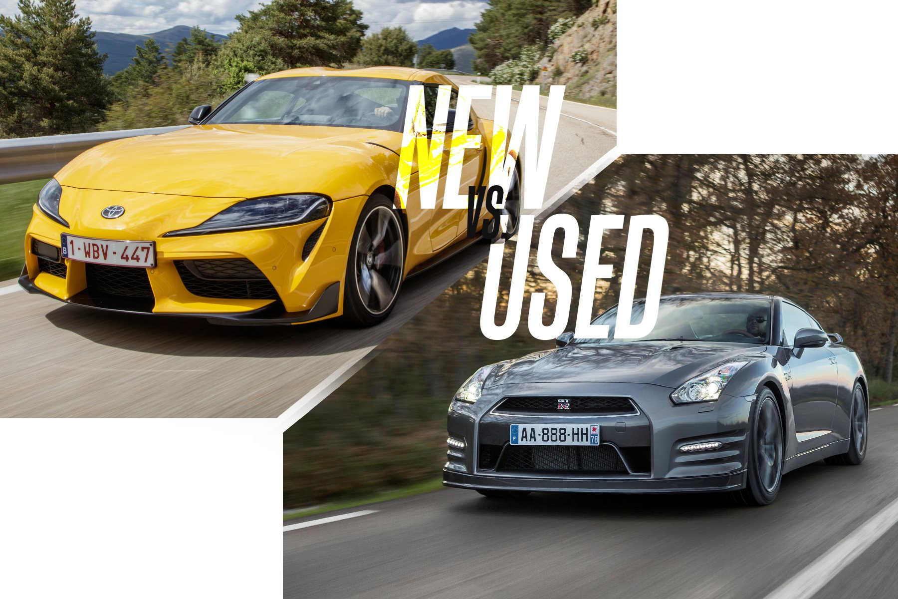 New Vs Used Buy The New Toyota Supra Or Get A Used Nissan Gt R