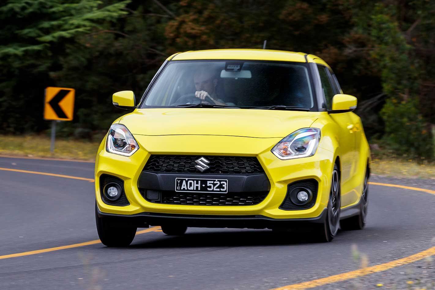2019 Suzuki Swift Sport automatic quick review