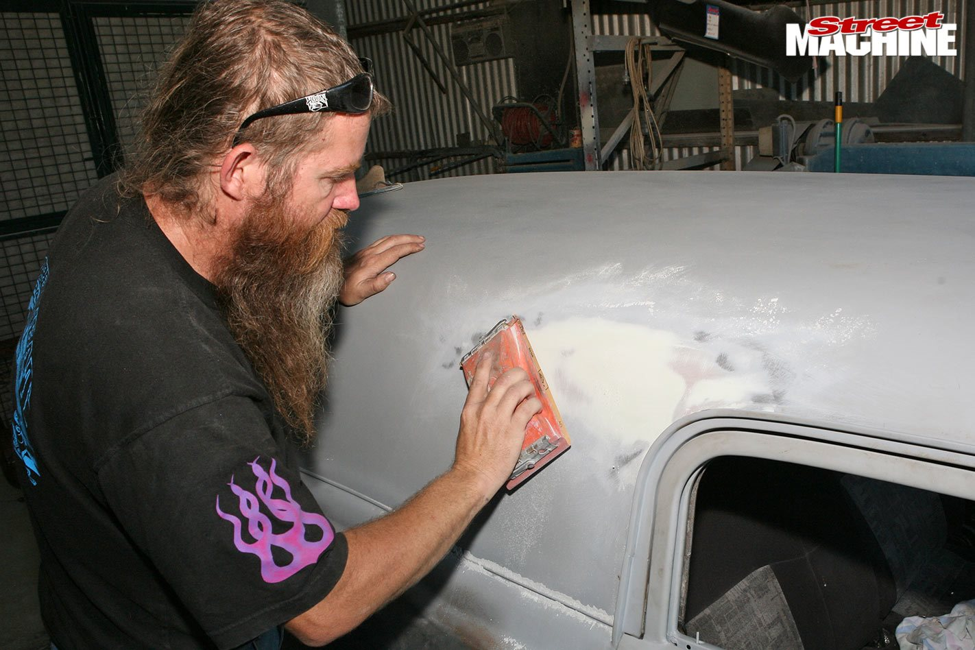 How to apply body filler (bog) to your car like a pro