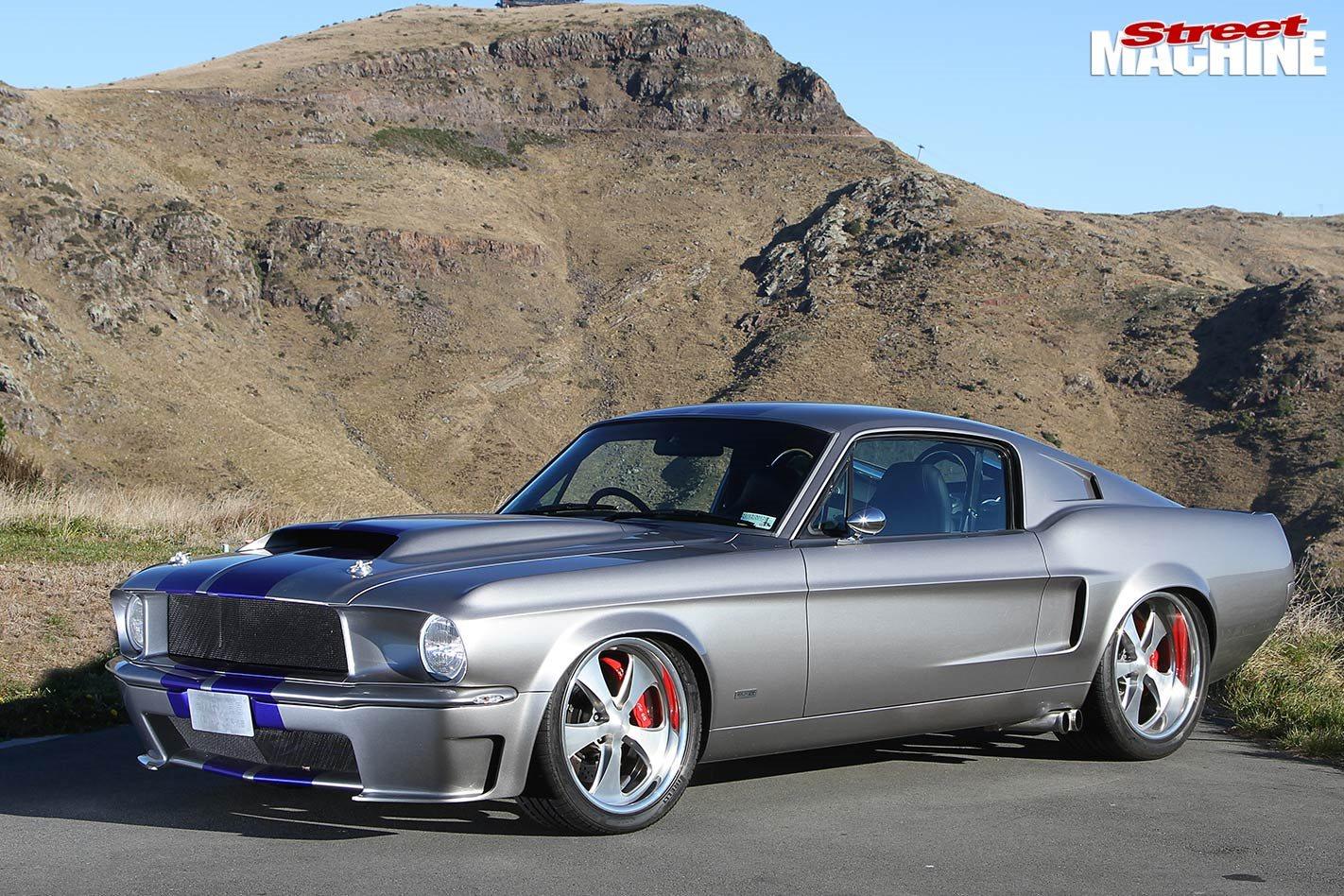 Burkes Metalwork Built 1968 Ford Mustang Fastback