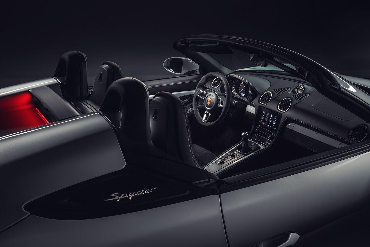 Porsche Boxster Spyder gains 4 0-litre muscle