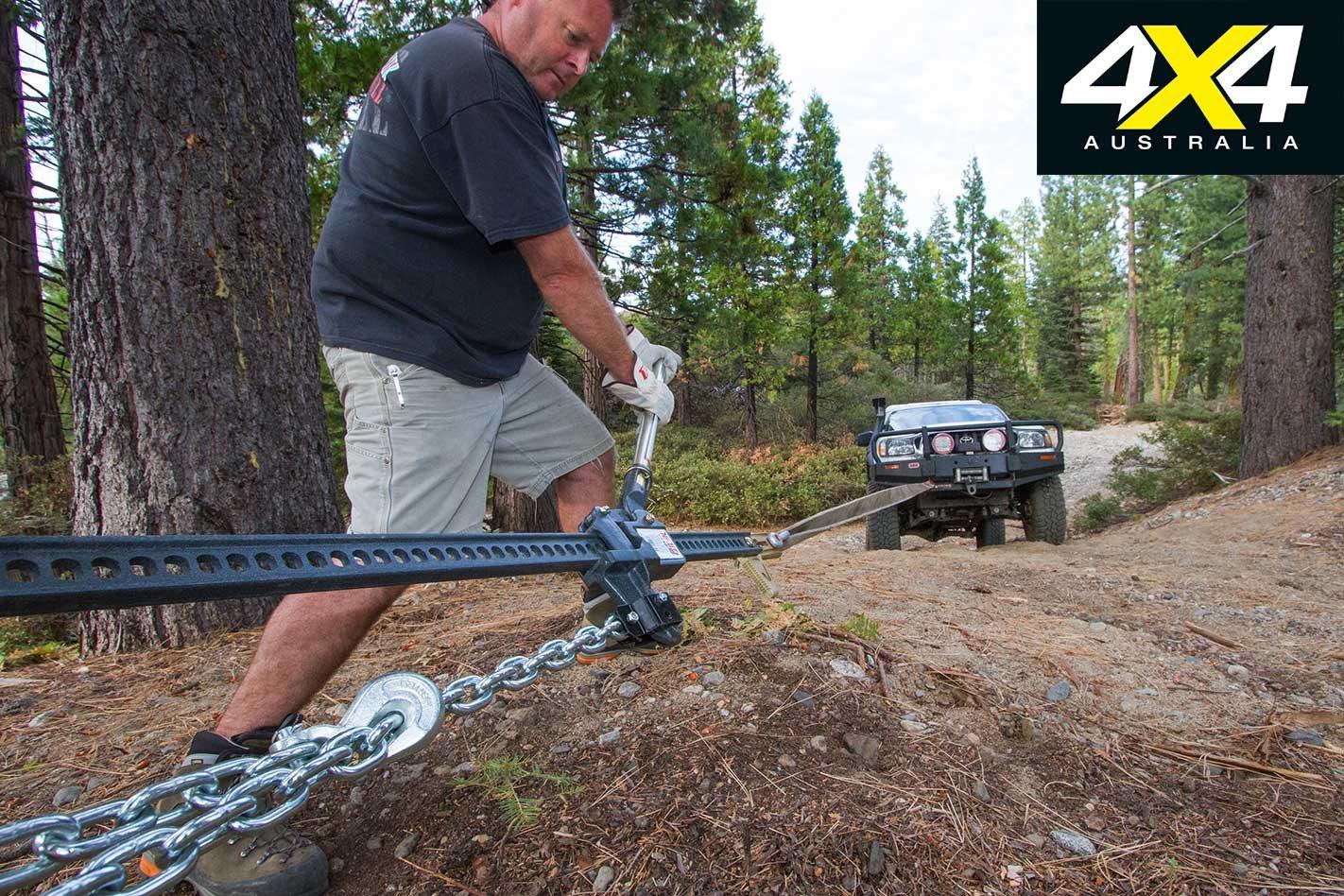 All-terrain jacks comparison test: 4x4 product test