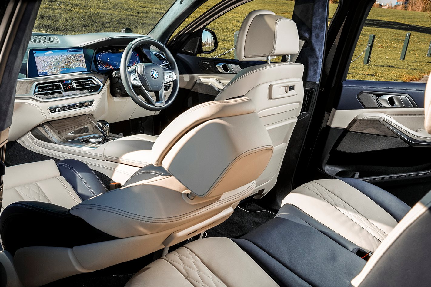 2019 Bmw X7 Xdrive30d Review Sprawling And Splendid
