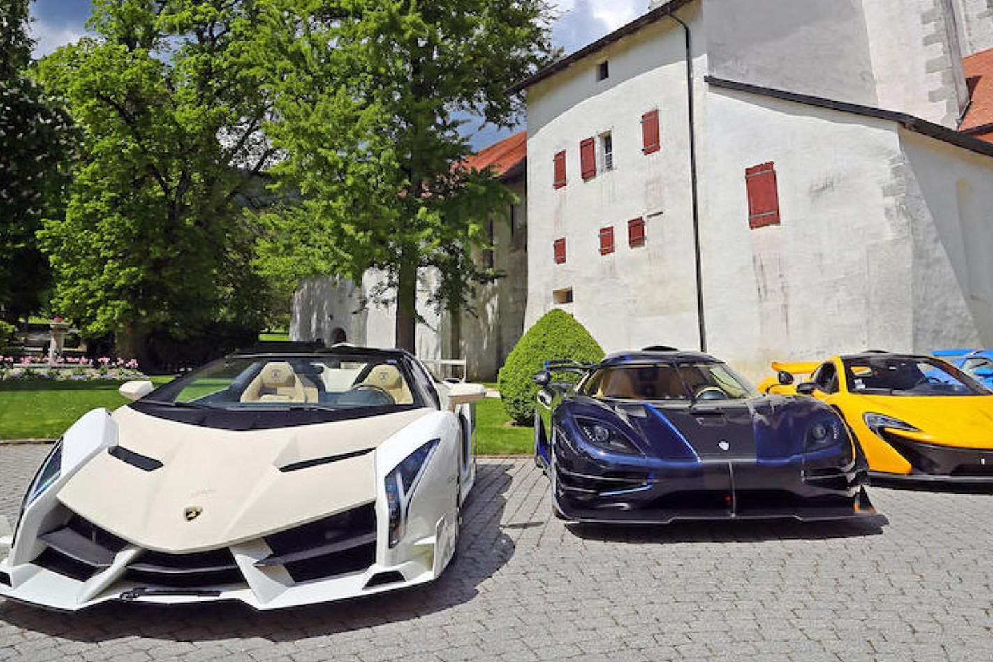 Swiss authorities to auction off a prince's seized hypercars