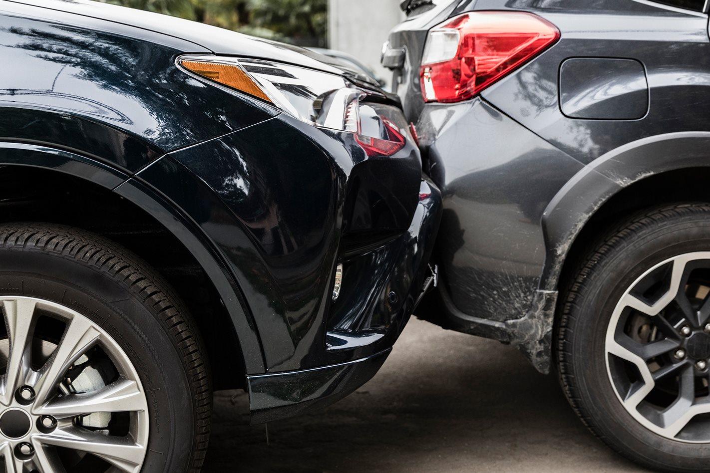 What happens when you have a car crash