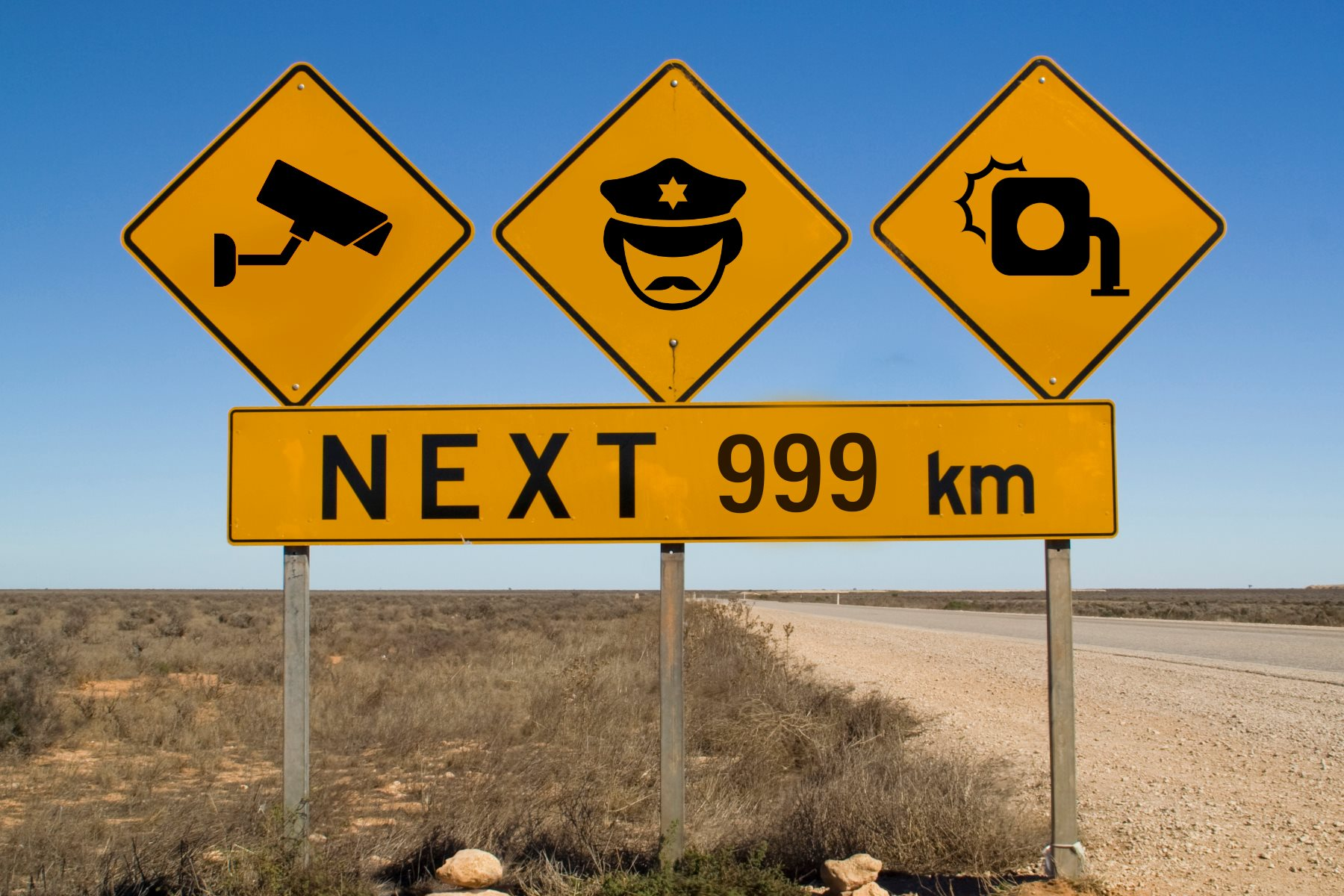 Australia, say goodbye to your driving freedom