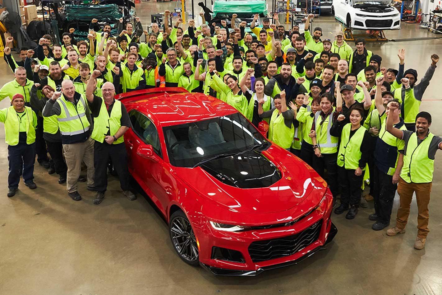 HSV marks 1000th Chevrolet Camaro conversion