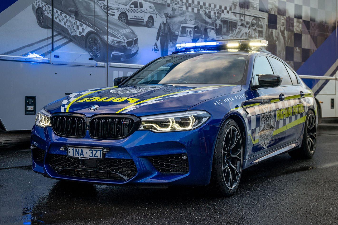 VicPol's new 460kW pursuit car