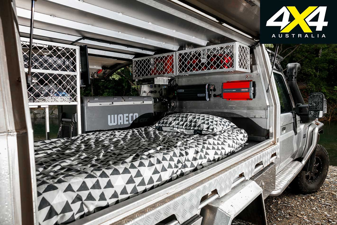 Custom portal-axled Toyota Land Cruiser 79 ute review