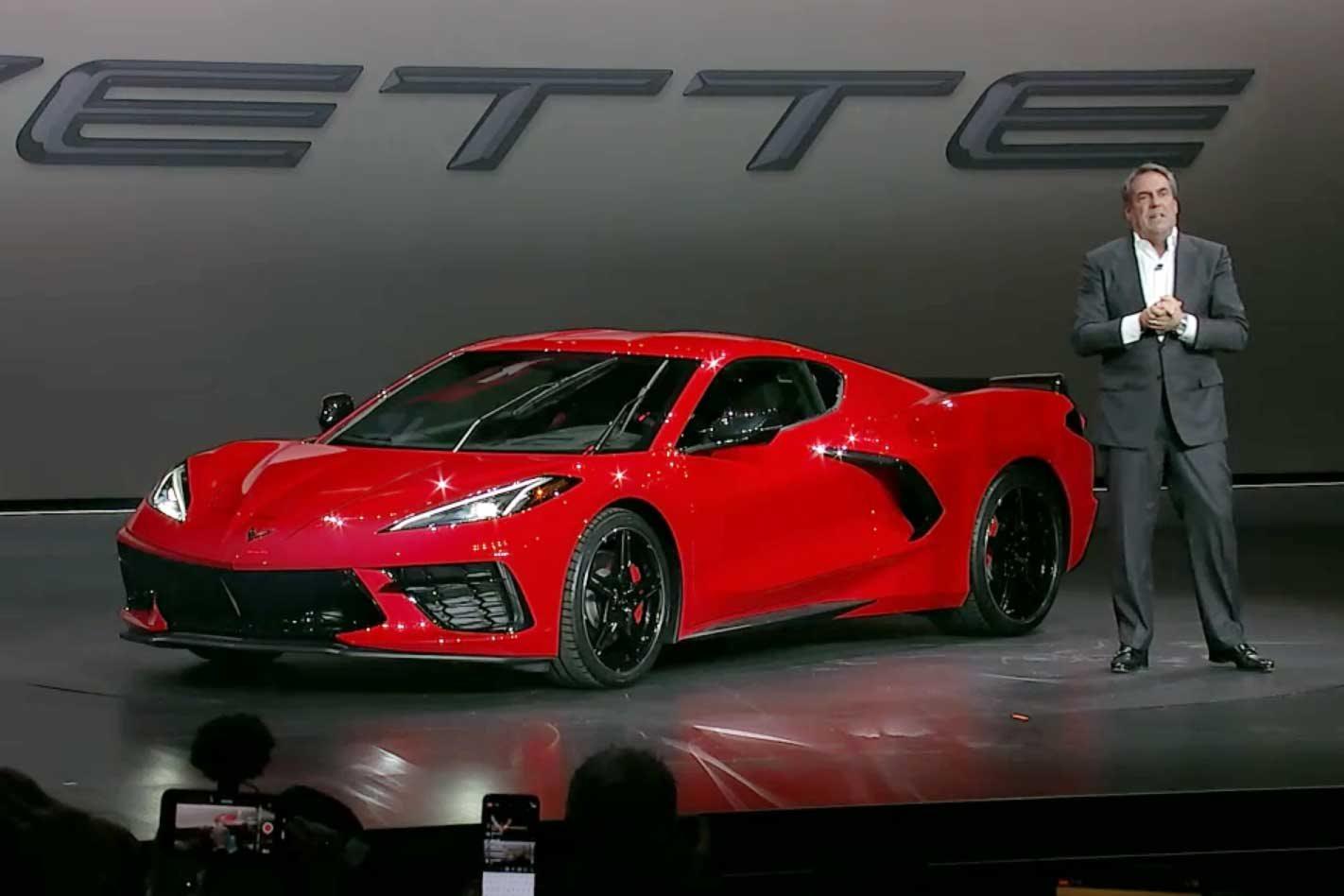 2020 Chevrolet C8 Corvette Stingray Revealed
