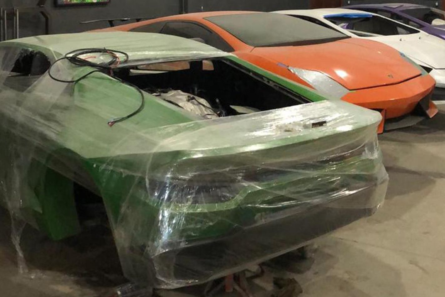 Police seize Commodore V6-powered fake supercars